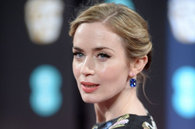 Emily Blunt attends the EE British Academy Film Awards on February 12, 2017. File Photo by Paul Treadway/UPI