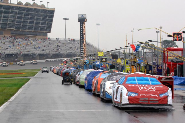 NASCAR officials said the K9 unit won't be used to screen Cup Series drivers or the limited number of fans in attendance Sunday at Atlanta Motor Speedway. File Photo by John Dickerson/UPI