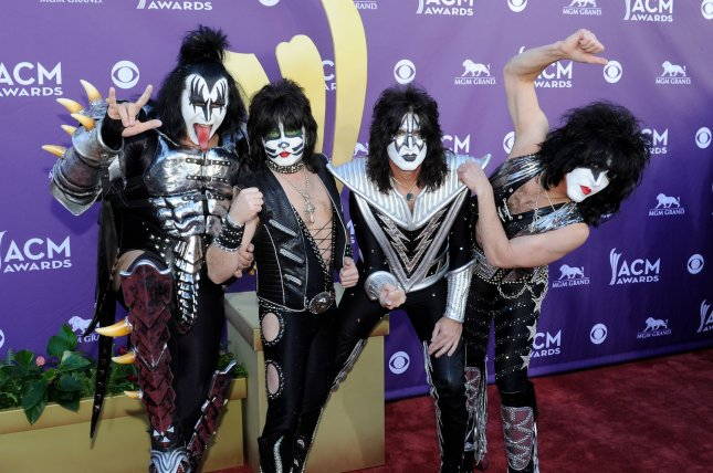 Kiss announced new dates for its End of the Road world tour, its final tour as a band. File Photo by David Becker/UPI