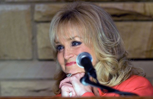 Barbara Mandrell speaks after being introduced as a 2009 Country Music Hall of Fame inductee at the Country Music Hall of Fame in Nashville,Tennessee on February 4, 2009. Mandrell is the fifth artist inducted in the ÒCareer Achieved National Prominence Between 1975 and the PresentÓ category. (UPI Photo/Frederick Breedon IV)