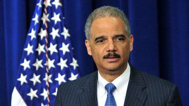 U.S. Attorney General Eric Holder. AP President Gary Pruitt said in a letter to Holder the seizure was a massive and unprecedented intrusion into AP's newsgathering activities. Holder's office did not immediately respond to requests for comment. FILE/UPI/Kevin Dietsch