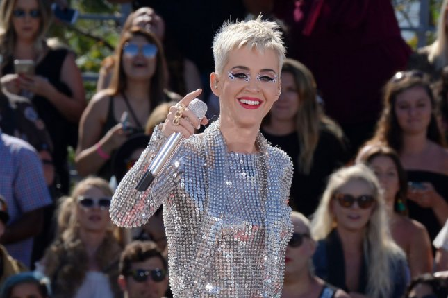 Katy Perry performs at the Witness World Wide YouTube livestream concert on June 12. File Photo by Jim Ruymen/UPI