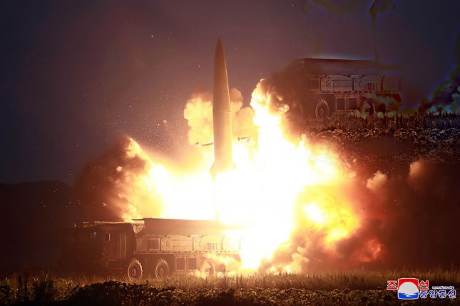 North Korea's missiles are advancing and pose greater dangers than in previous decades, U.S. analysts said Friday. File Photo by KCNA/UPI