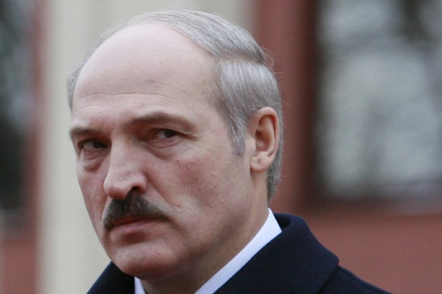 Belarusian President Alexander Lukashenko, shown here at a wreath laying ceremony in 2007, said Friday he will step aside when the country adopts a new constitution. Photo by Anatoli Zhdanov/UPI