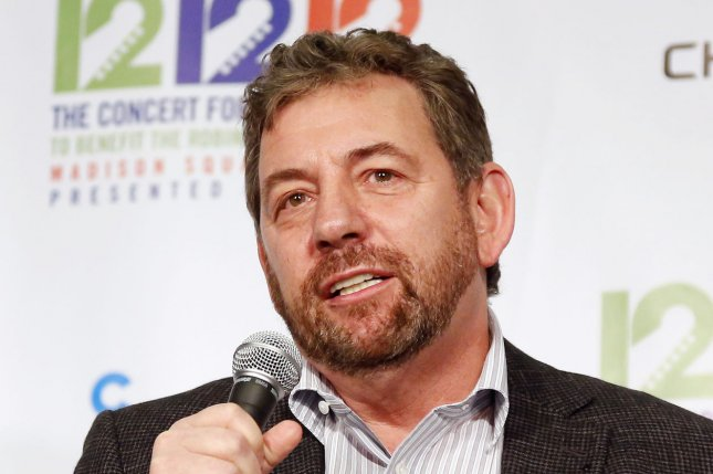 New York Rangers owner James Dolan (pictured) made the surprising decision at the tail end of the team's rebuild. The Rangers were eliminated from playoff contention earlier this week. File Photo by John Angelillo/UPI