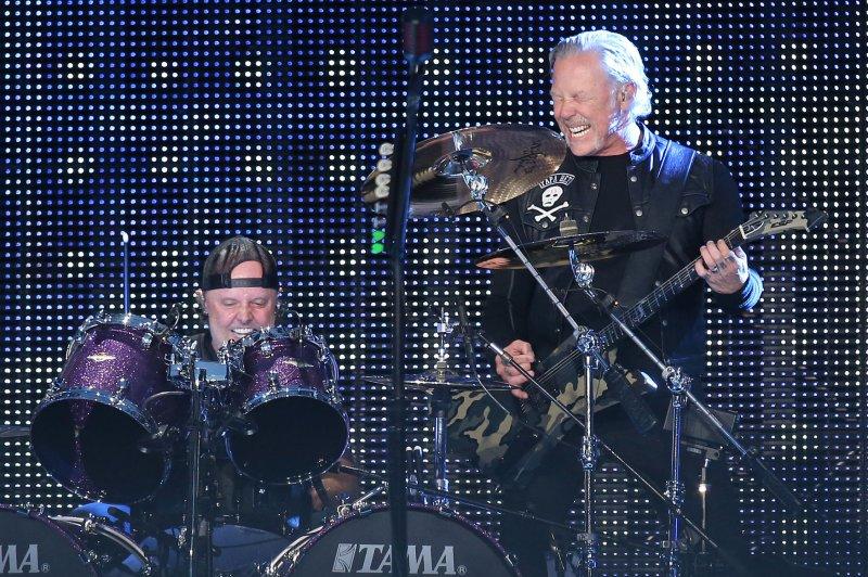 Metallica will celebrate the 30th anniversary of The Black Album with a new box set and The Blacklist cover album. File Photo by David Silpa/UPI