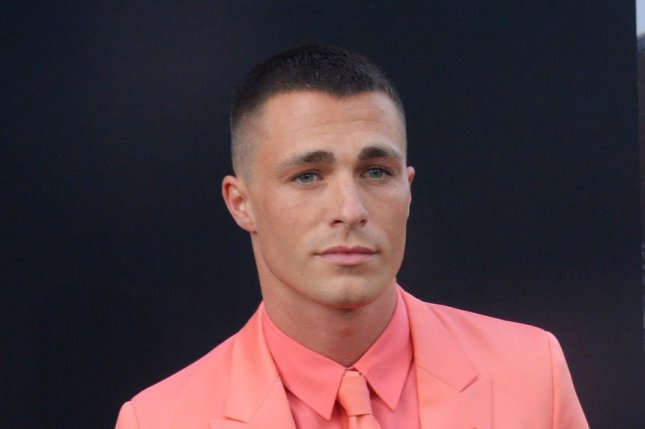 Colton Haynes at the Los Angeles premiere of San Andreas on May 26, 2015. The actor officially came out as gay in an interview Thursday. File Photo by Jim Ruymen/UPI
