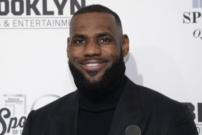 LeBron James arrives on the red carpet at the Sports Illustrated  Sportsperson of the Year Ceremony 2016 at Barclays Center on December 12 6741d98d0