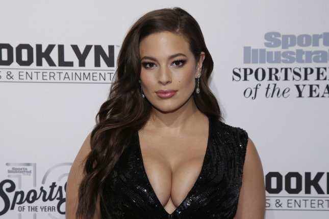 Ashley Graham at the Sports Illustrated Sportsperson of the Year ceremony on December 12, 2016. The model appears on the March cover of Vogue. File Photo by John Angelillo/UPI