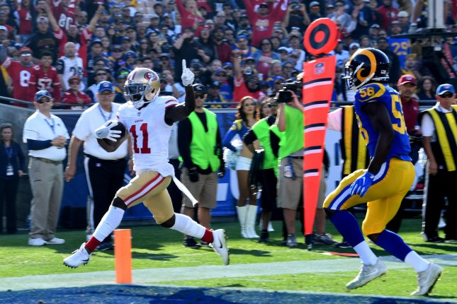 49ers' Marquise Goodwin signs 3-year extension after career-best season