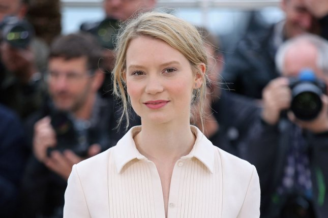 Mia Wasikowska at a Cannes International Film Festival photocall for Maps to the Stars on May 19, 2014. The actress plays Alice in Alice Through the Looking Glass. File Photo by David Silpa/UPI