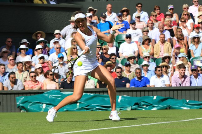 Great Britain's Johanna Konta. Photo by Hugo Philpott/UPI.