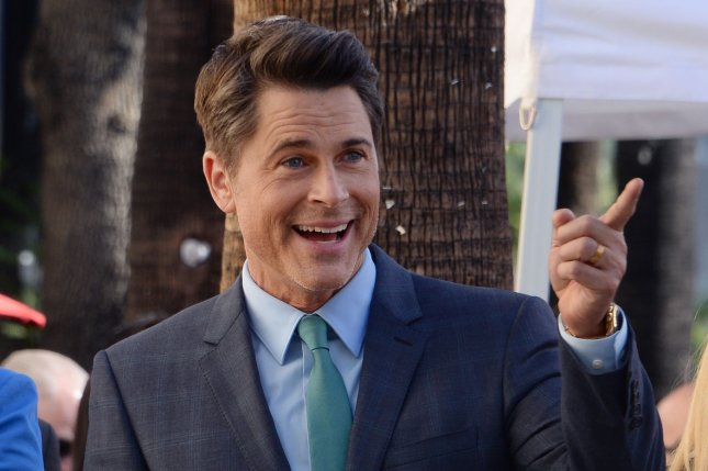 Comedy Central roast victim Rob Lowe is seen at an unveiling ceremony honoring him with the 2,567th star on the Hollywood Walk of Fame in Los Angeles on December 8, 2015. Photo by Jim Ruymen/UPI