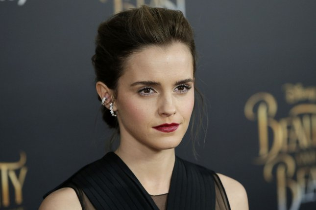 Emma Watson attends the New York screening of Beauty and the Beast on March 13. The actress said this week that she'd love to reprise Belle in Beauty and the Beast 2. File Photo by John Angelillo/UPI