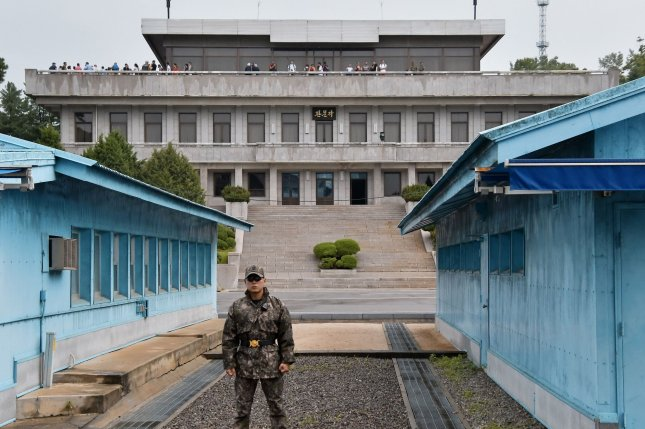 South Korea wants more civilians to visit the truce village of Panmunjom as it seeks to resume dialogue with Pyongyang. File Photo by Keizo Mori/UPI