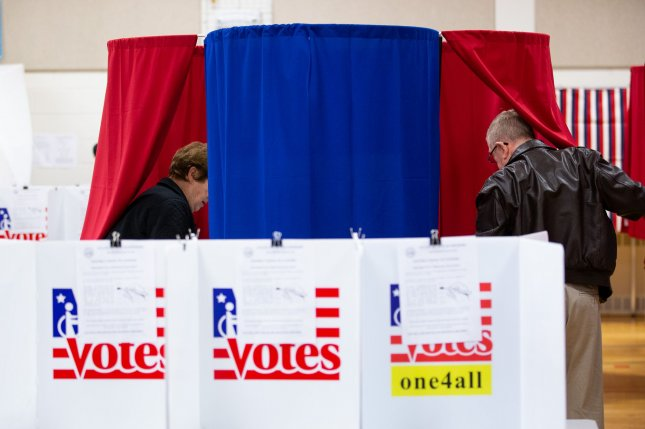 Nashua, New Hampshire, residents cast their votes on Tuesday, February 11, 2020. A new Gallup poll found that Americans Photo by Matthew Healey/UPI