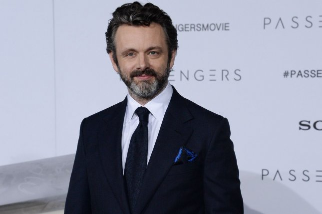 Michael Sheen reprised his role of the angel Aziraphale for a Good Omens mini-episode this weekend. File Photo by Jim Ruymen/UPI