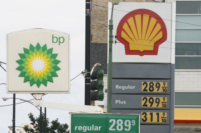 Two weeks ago, competitor BP similarly estimated its asset values will be down for the period between April and July by as much as $17 billion. File Photo by Brian Kersey/UPI