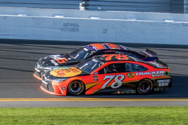 NASCAR: Truex Jr., Furniture Row Racing Upset With Pit Ruling