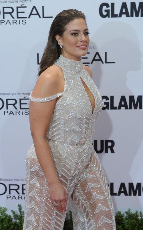 e20be17613b Ashley Graham at the Glamour Women of the Year Awards on Monday. Photo by  Jim Ruymen UPI