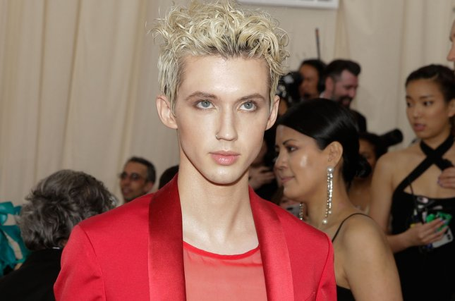 Troye Sivan attends the Costume Institute Benefit at the Metropolitan Museum of Art on May 7. File Photo by John Angelillo/UPI