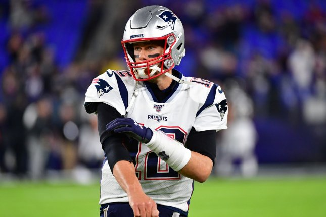 New England Patriots quarterback Tom Brady hasn't missed a start for injury-related reasons since the 2008 season. Photo by David Tulis/UPI
