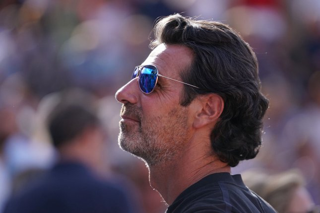Tennis coach Patrick Mouratoglou will host a tennis competition at his academy for five weeks in Biot, France. File Photo by David Silpa/UPI