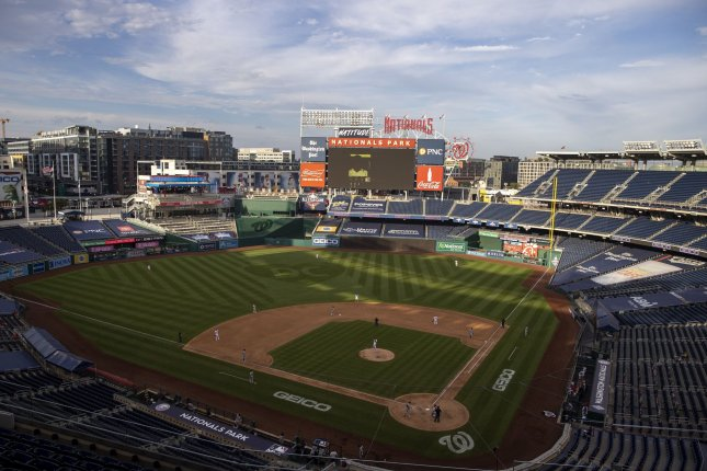 In the team's Opening Day game next year, the Washington Nationals are scheduled to host the New York Mets on April 1 at Nationals Park in Washington, D.C. File Photo by Tasos Katopodis/UPI