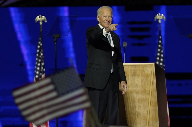 Wisconsin's recount of votes in Milwaukee and Dane County was completed Sunday, netting President-elect Joe Biden 87 additional votes and affirming his victory over President Donald Trump. Pool photo by Andrew Harnik/UPI