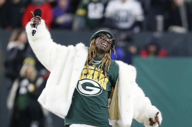 Lil Wayne celebrated his presidential pardon from Donald Trump by releasing the new song Ain't Got Time. File Photo by Nuccio DiNuzzo/UPI