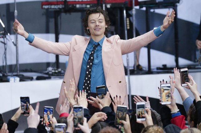 Harry Styles is set to star in Amazon's My Policeman. File Photo by John Angelillo/UPI