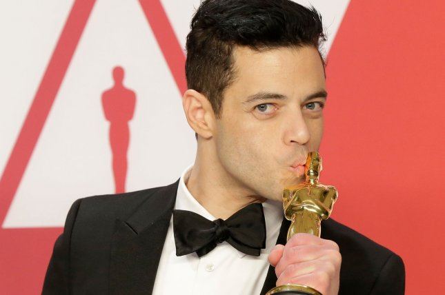 Rami Malek won the Oscar for Best Actor in a Leading Role for Bohemian Rhapsody. File Photo by John Angelillo/UPI
