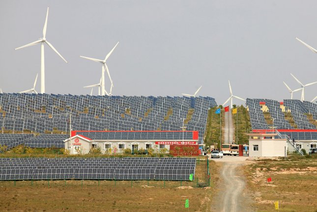 Analysis from consultant group Wood Mackenzie finds mixed global results from a Chinese decision to throttle growth in its solar power sector. File Photo by Stephen Shaver/UPI