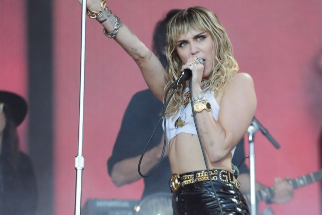 Miley Cyrus was previously scheduled to perform at the Woodstock 50 festival before it ran into a number of production issues. File Photo by Hugo Philpott/UPI