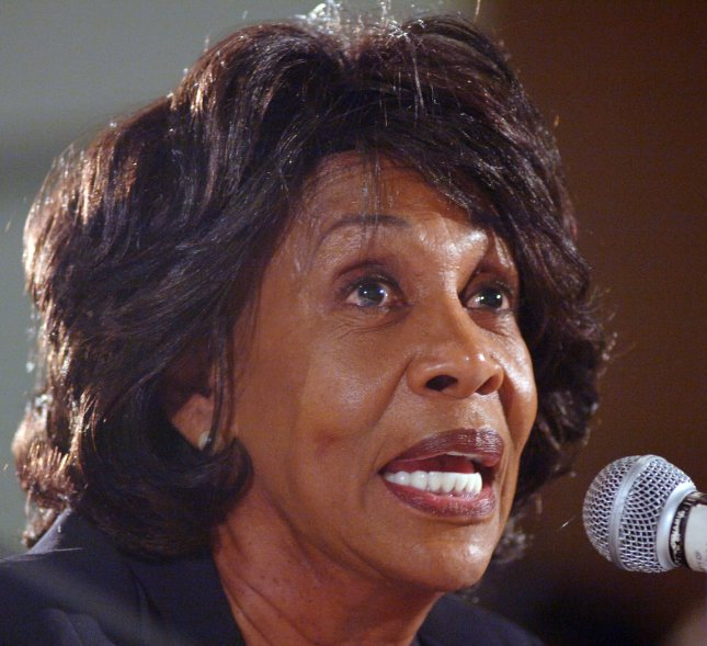 U.S. Rep. Maxine Waters, D-Calif., has accused the House Ethics Committee of violating her constitutional rights in its investigation of her finances. (UPI Photo/Jim Ruymen)