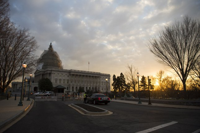 Police detonated a pressure cooker found in a suspicious vehicle parked near the U.S. Capitol. File photo by Kevin Dietsch/UPI