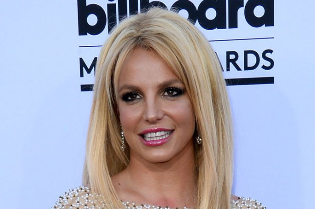 Britney Spears revealed she likes to paint topless. File photo by Jim Ruymen/UPI