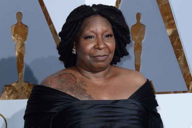 Actress Whoopi Goldberg arrives on the red carpet for the 88th Academy Awards on February 28, 2016. File Photo by Jim Ruymen/UPI