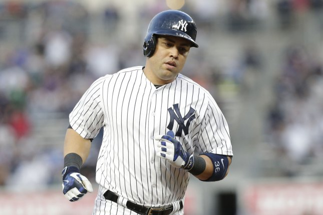 New York Yankees' Carlos Beltran. Photo by John Angelillo/UPI