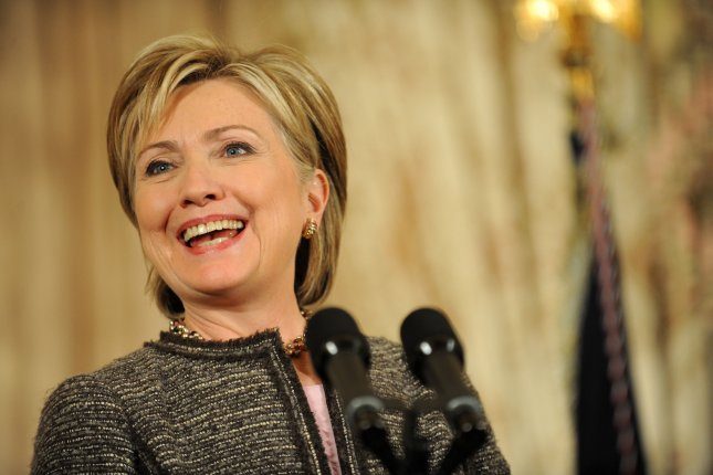 On January 21, 2009, Sen. Hillary Clinton, D-N.Y., won near-unanimous Senate confirmation as U.S. secretary of state. She took the oath of office later that day. File Photo by Matthew Cavanaugh/UPI