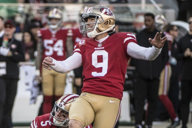 the best attitude 7cb6d 9460b San Francisco kicker Robbie Gould requests trade from 49ers ...
