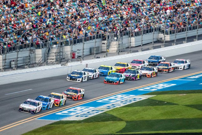 NASCAR temporarily suspended its season in mid-March because of the coronavirus pandemic. File Photo by Edwin Locke/UPI