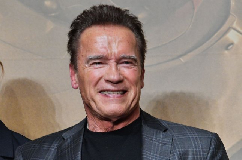 Arnold Schwarzenegger talked about working with Stan Lee on Superhero Kindergarten on Jimmy Kimmel Live. File Photo by MORI Keizo/UPI