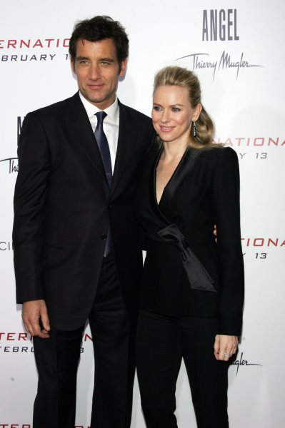 Clive Owen and Naomi Watts arrive for the premiere of The International at the AMC Loews Lincoln Square Theater in New York on February 9, 2009. (UPI Photo/Laura Cavanaugh)