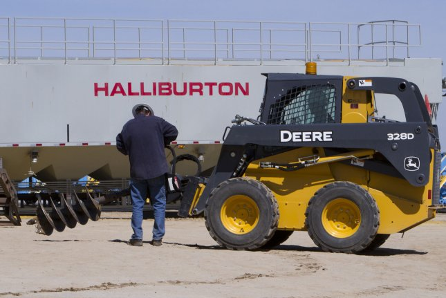 About 8 percent of the staff at Halliburton will be cut as the oil and gas industry continues to suffer through deteriorating market conditions, a spokesman said. File photo by Gary C. Caskey/UPI