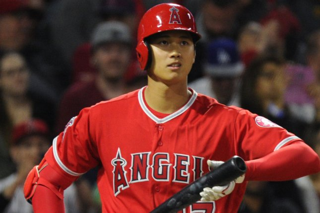 Upton, Ohtani homers lift Angels over A's 13-9