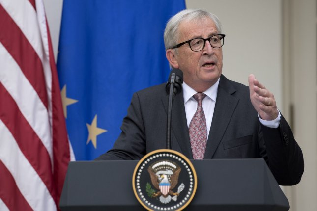 President of the European Commission Jean-Claude Juncker said Europe is ready for liquefied natural gas from the United States if the price is competitive. File Photo by Kevin Dietsch/UPI