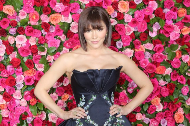 Katharine McPhee will play Jenna in the West End production of Waitress. File Photo by Serena Xu-Ning/UPI