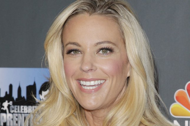Kate Gosselin voiced her pride after Cara and Mady, her twin daughters with Jon Gosselin, graduated. File Photo by John Angelillo/UPI