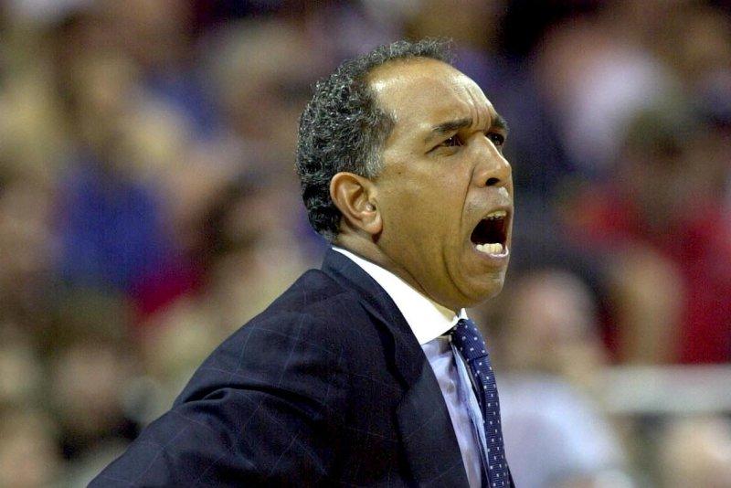 Memphis head basketball coach Tubby Smith. mk/bg/Bill Greenblatt UPI